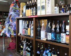 日本酒、焼酎、洋酒、ビールと幅広い品ぞろえ 竹中酒店
